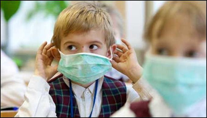 простудные заболевания и грипп у детей